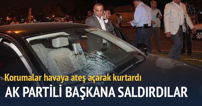 Akçakale Belediye Başkanı'nın aracına saldırı