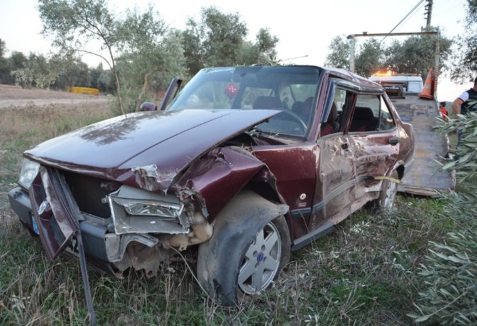 Köyceğiz'de Trafik Kaza; 2 Yaralı