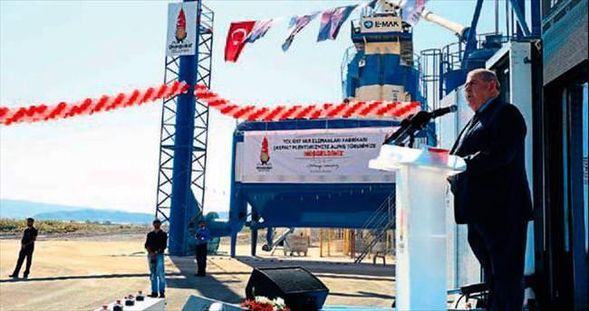 Kahramanmaraş'ta dev tesise coşkulu açılış