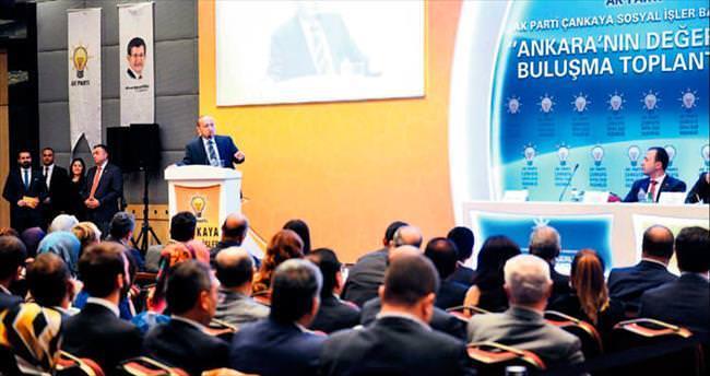 Ankara'nın değerlerine AK Parti sahip çıkıyor