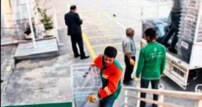Çankaya'da sandık dağıtımı başladı