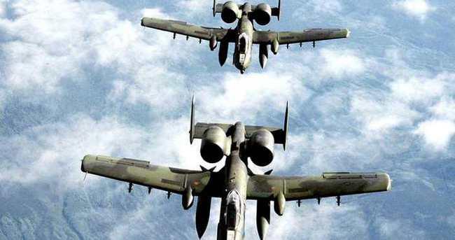 ABD'nin tank katili uçakları İncirlik Üssü'nde