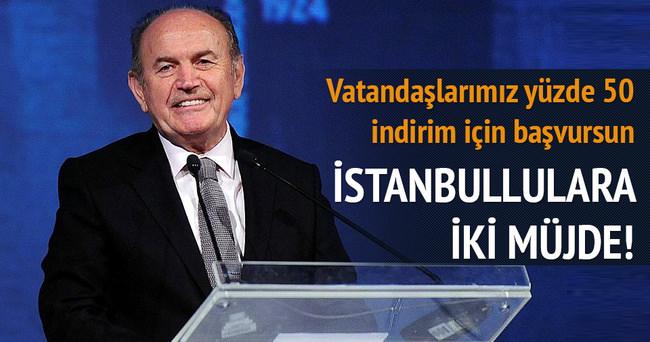 İstanbullulara iki müjde birden