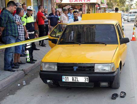 Polisten kaçan takside 50 kilo esrar yakalandı
