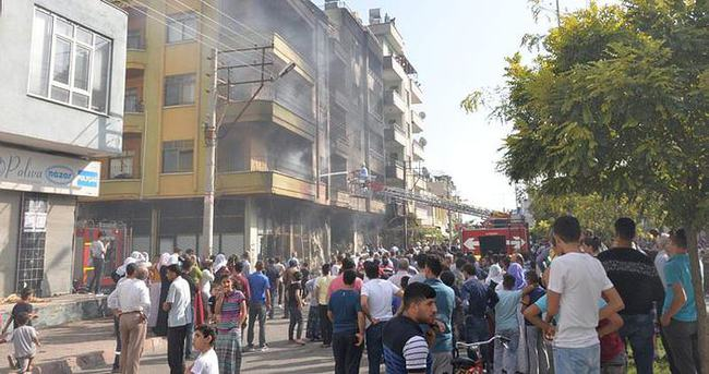 Mersin'de yangın: 15 kişi yaralandı!