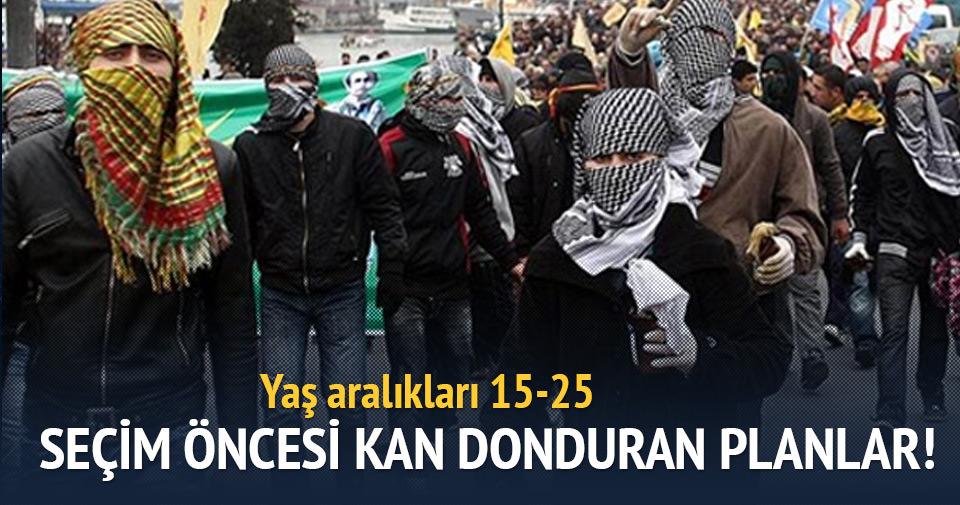 PKK'nın seçim öncesi korkunç planı