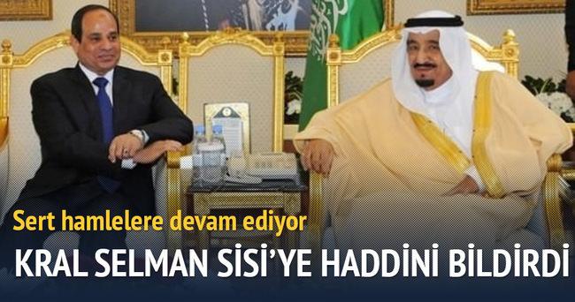 Kral Selman, Sisi'ye haddini bildirdi