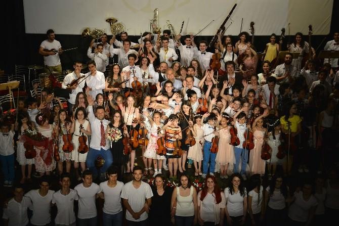 Çocuk Senfoni Orkestrası Büyük Konsere Hazır