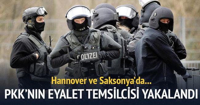 Almanya'da PKK eyalet sorumlusu yakalandı