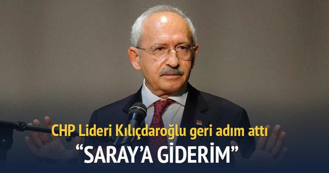 CHP Lideri Kılıçdaroğlu: Saray'a giderim