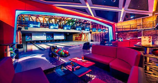Sinema, bowling ve restoran tek çatı altında