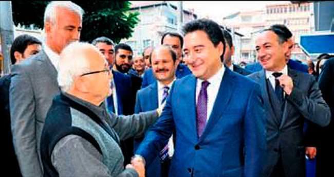 Babacan Kırıkkale esnafı ile buluştu
