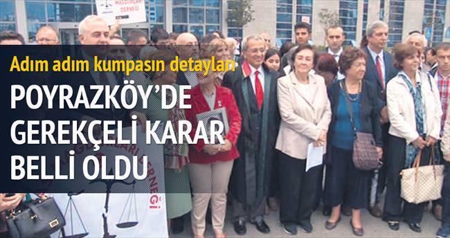 Poyrazköy'de bir grup adına hareket ettiler