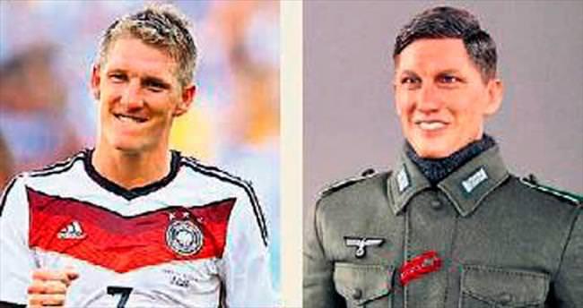 Alman futbolcuyu kızdıran oyuncak