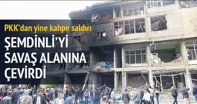 Hastaneyi bombaladılar