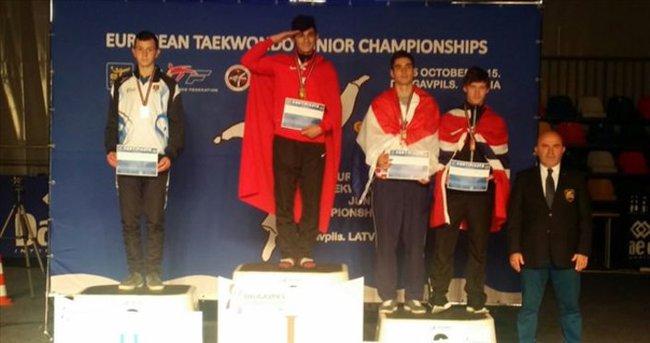 Emre Gül Avrupa Şampiyonu oldu