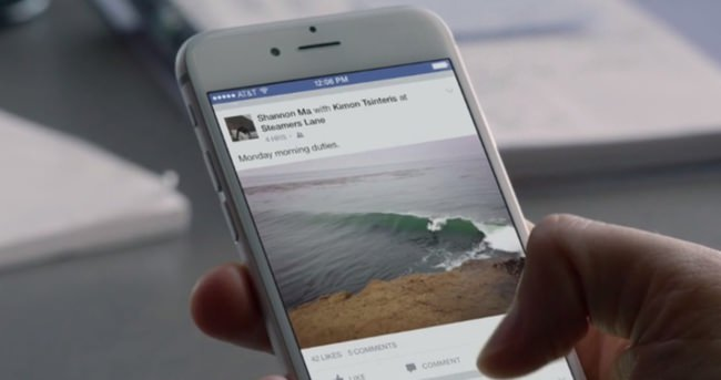 iPhone'daki Facebook sorununa çözüm