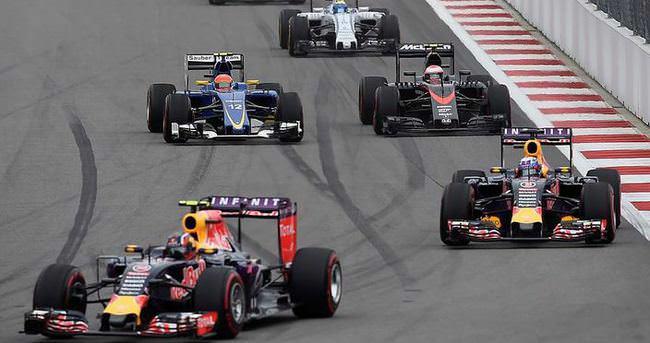 Formula 1'de heyecan ABD'de sürecek