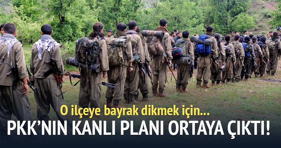 400 PKK'lı talimat gelince ilçeye sızacak!