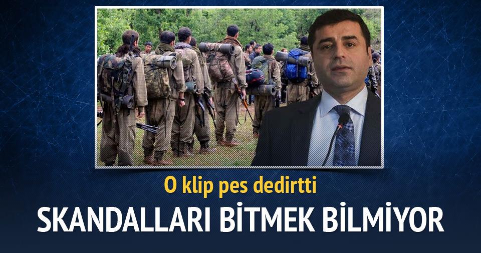 HDP, PKK marşı ile oy istedi!