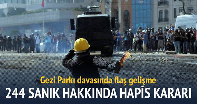 Gezi Parkı davasında karar!
