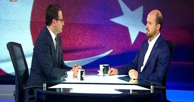 Bilal Erdoğan röportajının tekrarı A Haber'de