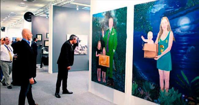 Tahran'dan gelen Çağdaş Sanat
