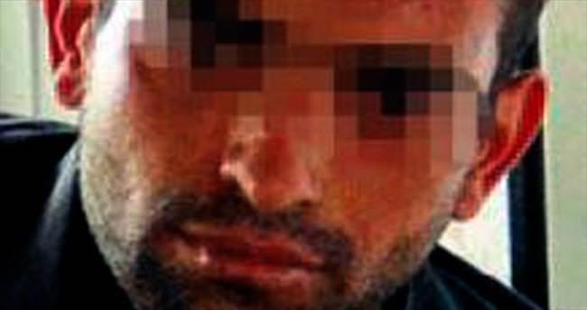Maskeli soyguncu baltayı taşa vurdu, yakalandı