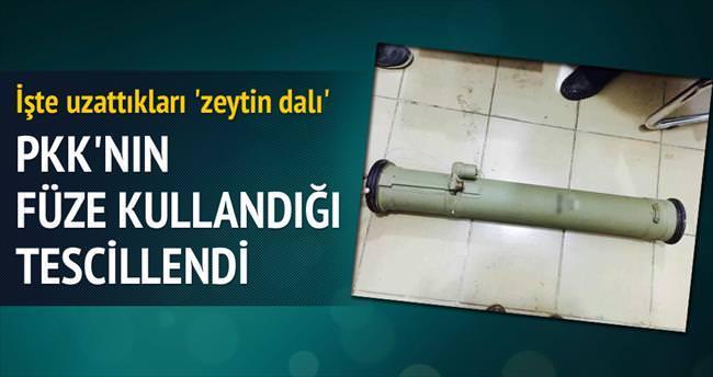 'İşte PKK'nın zeytin dalı anti tank füzesi'