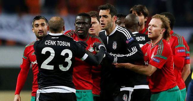 UEFA'dan Beşiktaş ve Lokomotiv'e soruşturma!
