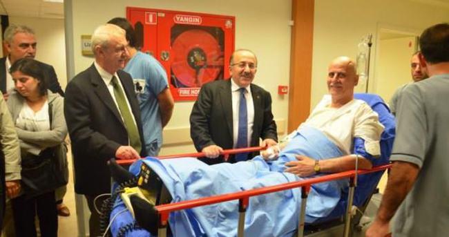 Trabzonspor'un efsanesi hastaneye kaldırıldı