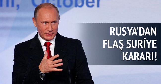 Rusya'dan Özgür Suriye Ordusu açıklaması!