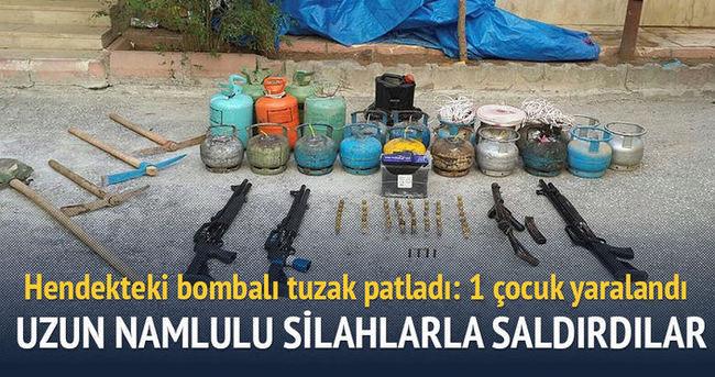 PKK yine çocukları hedef aldı