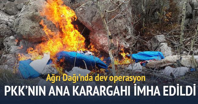 PKK'nın ana karargahı imha edildi