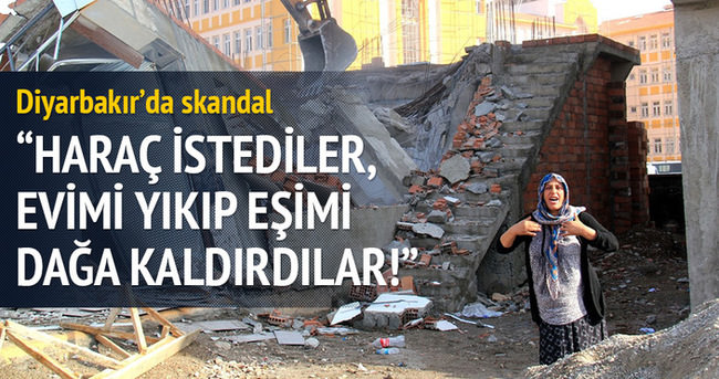 'Haraç istediler, eşimi dağa kaldırıp evimi yıktılar'