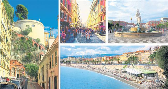 Hoş kokulu sokaklarıyla Nice