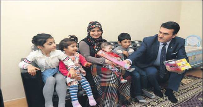 Başkan Dündar Elif bebeğe sahip çıktı
