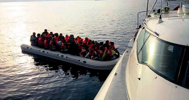 Son 5 günde 2 binden fazla Suriyeli göçmen yakalandı