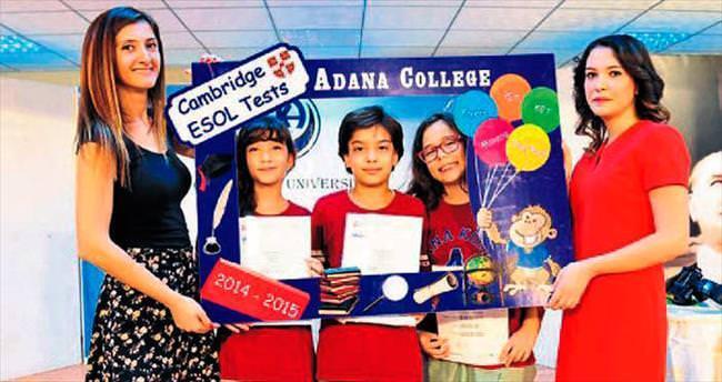 Adana Koleji'nde Cambridge başarısı
