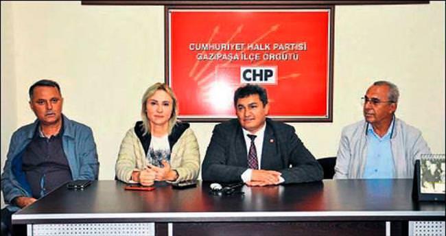 CHP'liler destek istedi