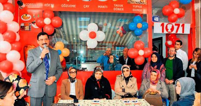 Kadın girişimciler 62'nci işyerini açtı