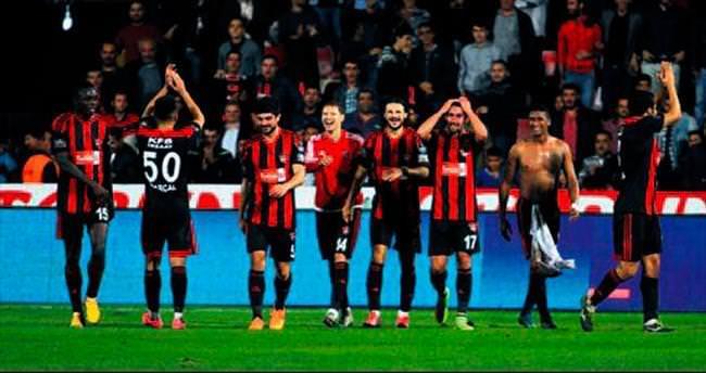 Gaziantep tek golle kazandı