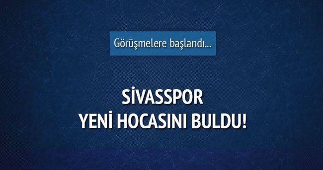 Sivasspor'un yeni hocası belli oldu