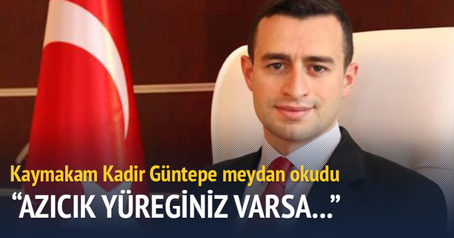 PKK'nın tehdit ettiği kaymakam meydan okudu