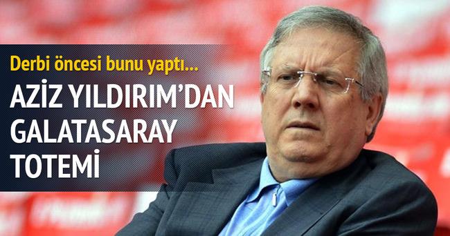 Aziz Yıldırım'dan Galatasaray totemi