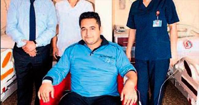 Burdur'da ilk kez mide küçültme operasyonu