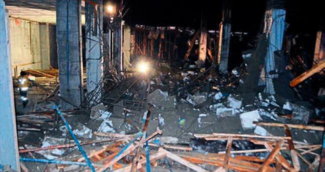 İskele çöktü 5 kişi yaralandı