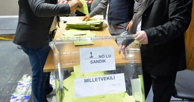 Yurtdışındaki oy verme işlemi sona erdi