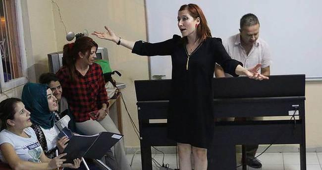 Engellilerin sesleri polifonik koroda birleşiyor