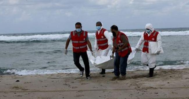Libya açıklarında 40 cesede ulaşıldı